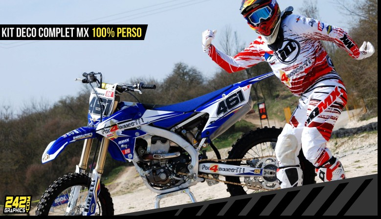 kit déco perso motocross mx enduro 242graphics