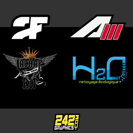 création logo logotype 242graphics