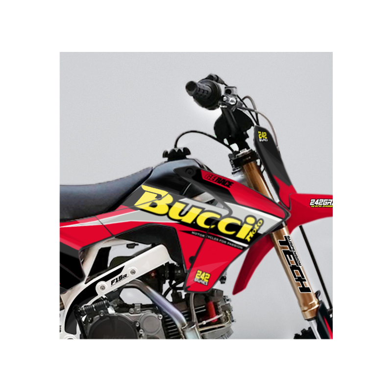kit d co perso bucci buccimoto geirace pit bike 242graphics. Black Bedroom Furniture Sets. Home Design Ideas