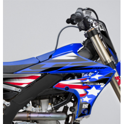 kit deco yamaha yz yzf motocross semi perso patriot us 242graphics