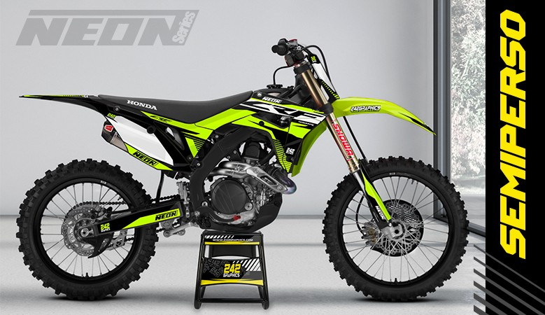 Kit déco perso honda cr crf neonseries by 242graphics