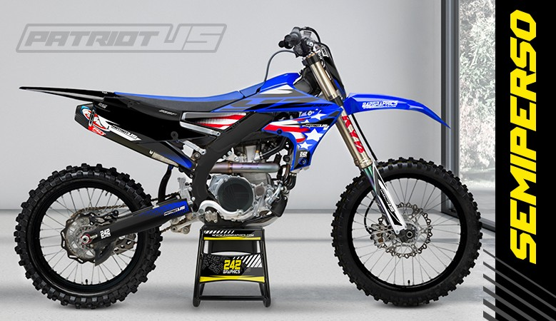 Kit déco perso yamaha yz yzf patriot us by 242graphics